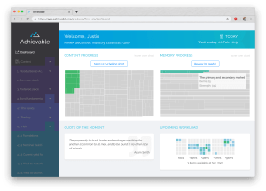 Achievable's Product Dashboard