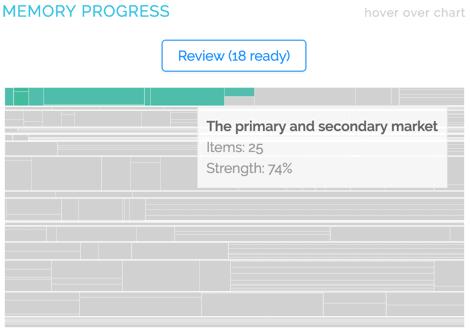 Achievable Memory Progress