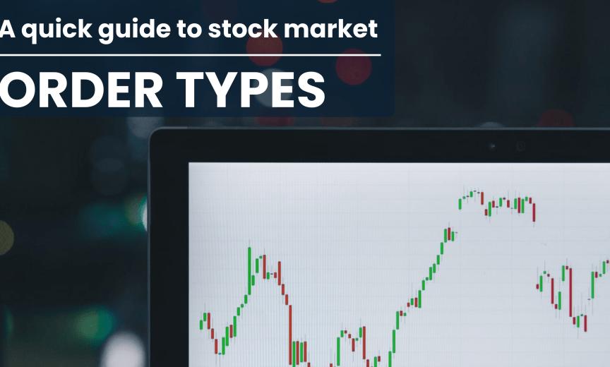 Master order types: market orders, limit orders, stop orders