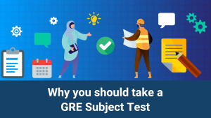 Image representing the different GRE subject tests
