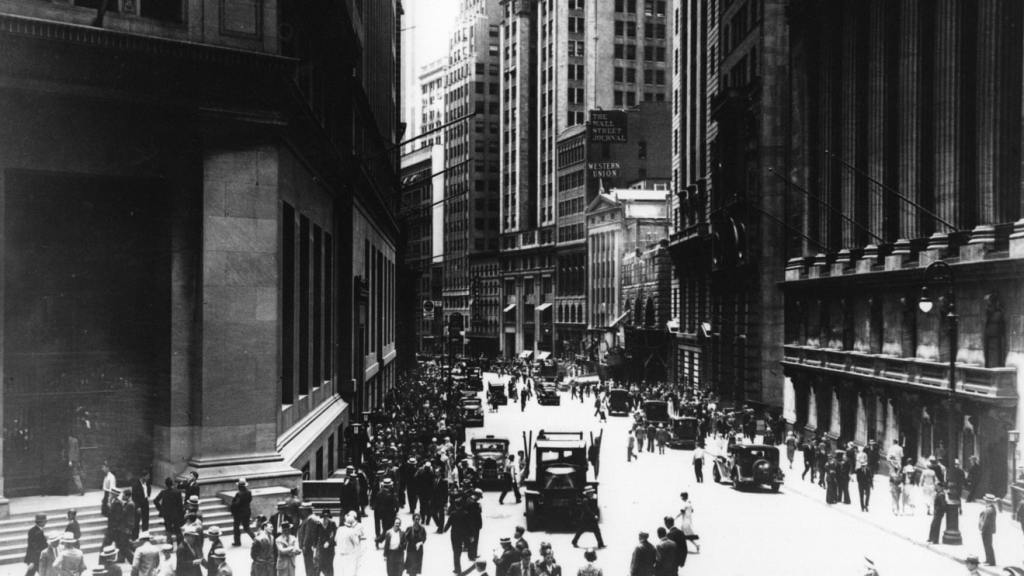 Wall Street 1930s when the SEC accredited investor rules were created