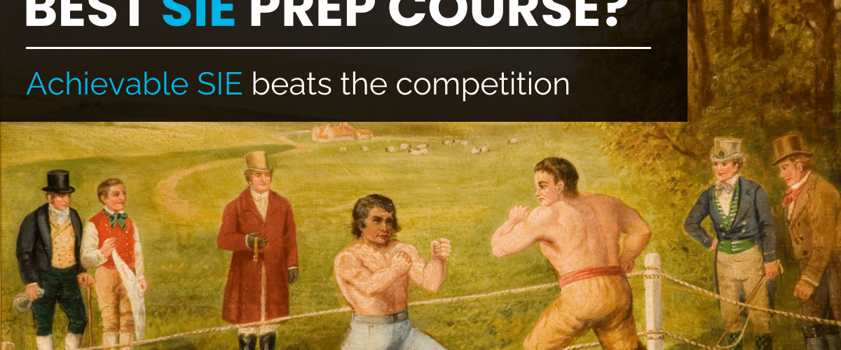 Best SIE Prep Course Achievable SIE