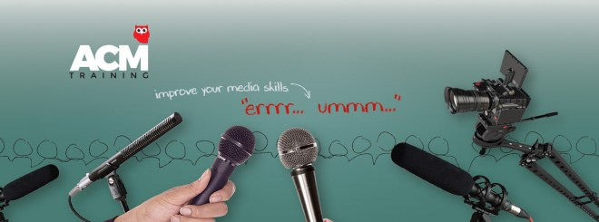 Media training - stay in control of the message