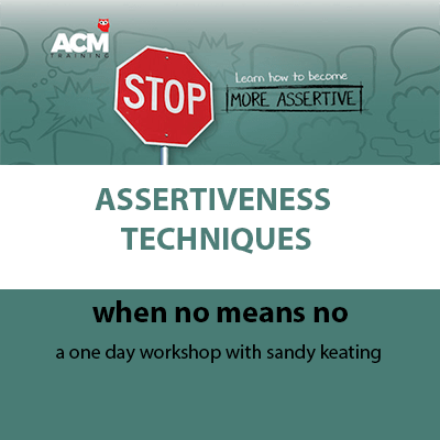 be more assertive