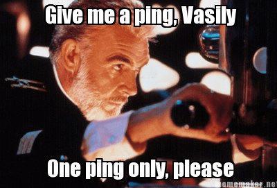 Pings for everyone!