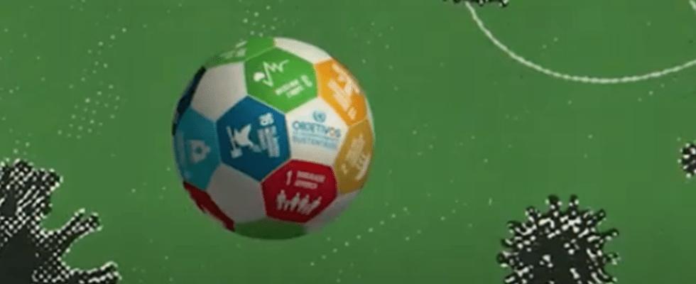 Futebol é mote de campanha para divulgar a Agenda 2030 e enfrentar a Covid-19