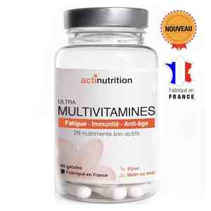 Ultra MultiVitamines, la solution complète anti-carences