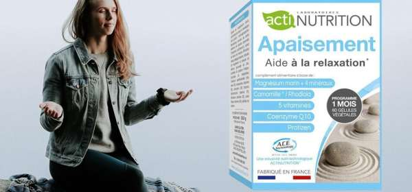 Apaisement Actinutrition Antistress