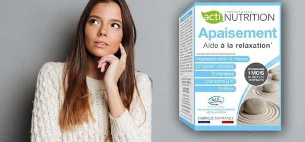 Apaisement Actinutrition Antistress