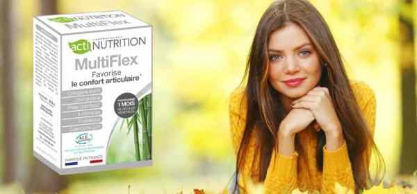 MultiFlex complément alimentaire d'Actinutrition.
