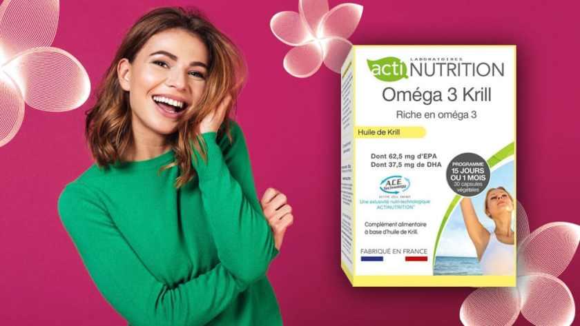 Oméga 3 Krill Actinutrition
