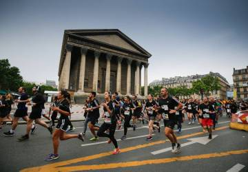 course running 10k Adidas Paris