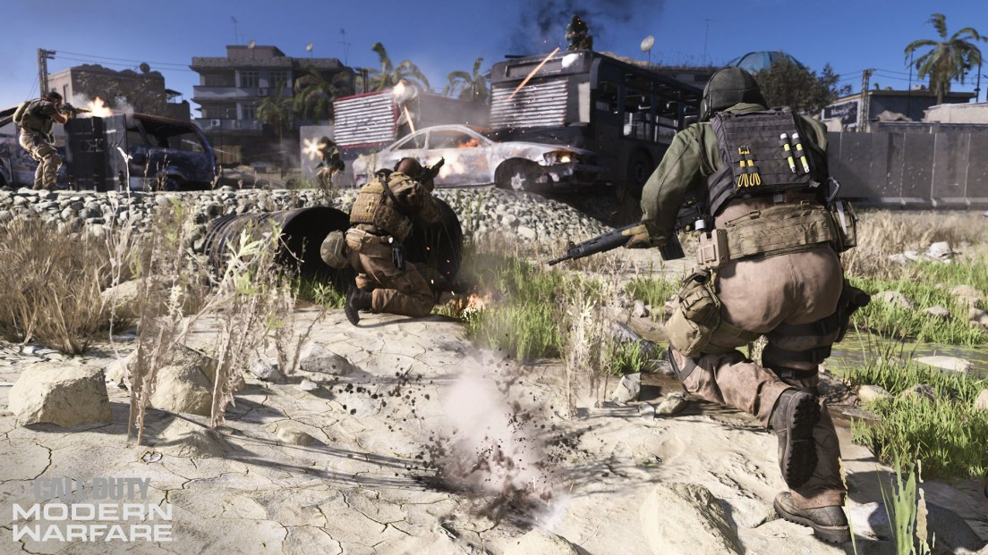 Modern Warfare Multiplayer Gameplay & Weapons In depth