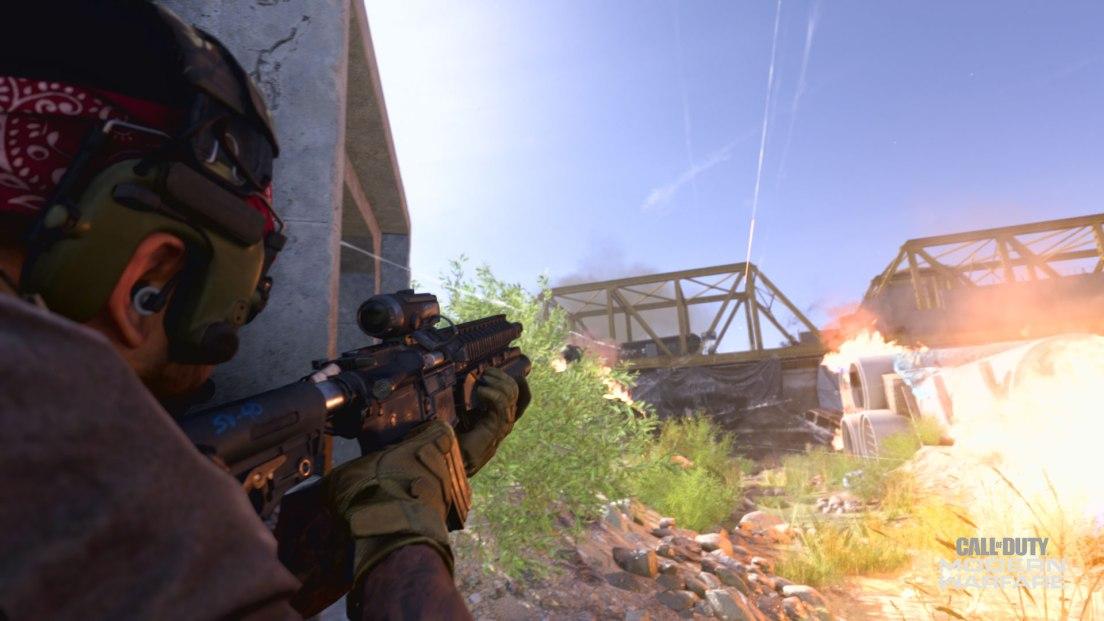 First Look At Modern Warfare's Gameplay Mechanics MW MP TRAILER SCREEN 038