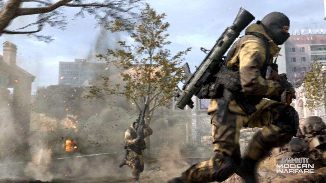 First Look At Modern Warfare's Gameplay Mechanics MW MP TRAILER SCREEN 066