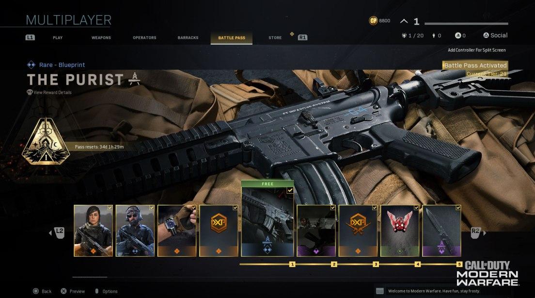 Modern Warfare Season 1 Update Patch Notes & Awesome Battle Pass Details