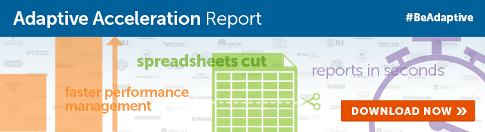 Click on the banner above to download our new Adaptive Acceleration Report!