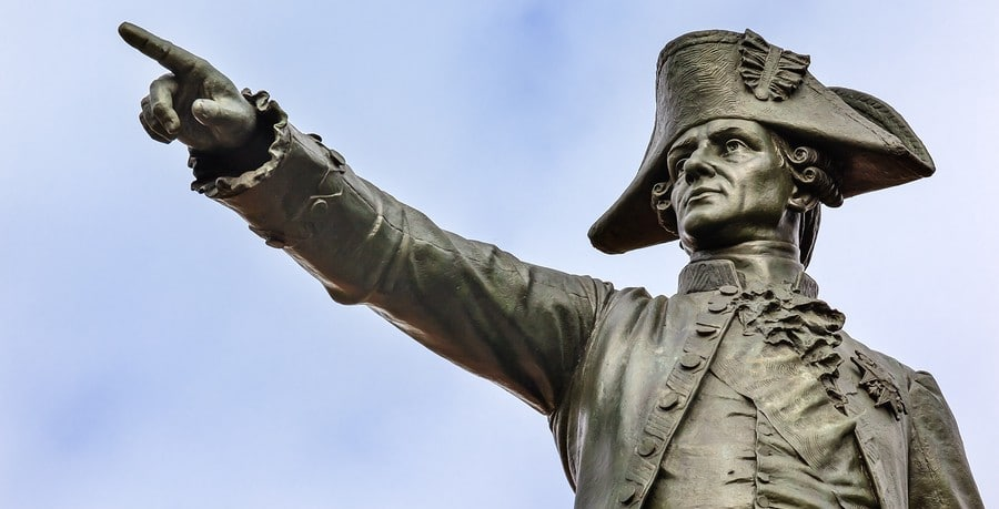 General Rochambeau Statue Lafayette Park Autumn Washington Dc