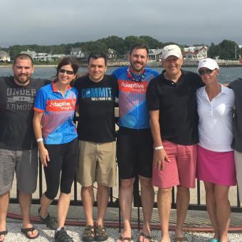 Team Photo -Mass Maritime Bourne