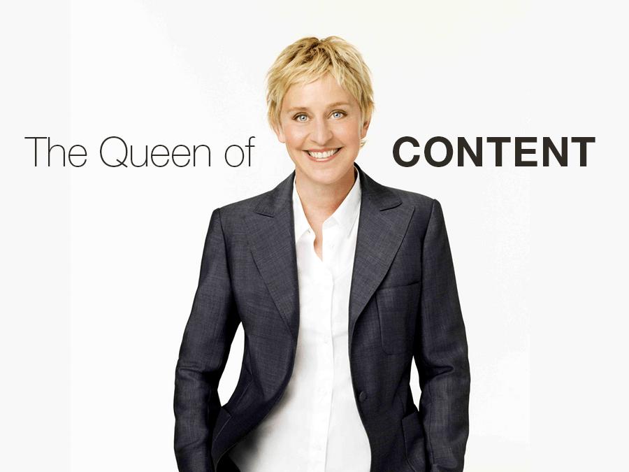 Ellen Degeneres Is The Queen Of Content AddThis