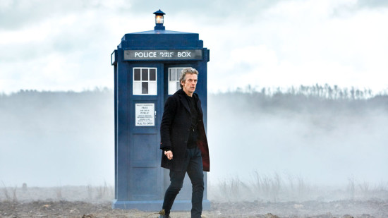 Peter Capaldi as the Twelfth Doctor for Doctor Who series 9.