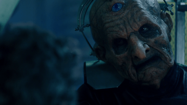 Davros in Doctor Who The Witch's Familiar