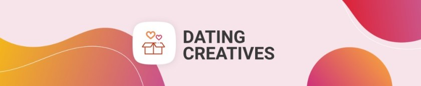 Social Bar creatives for Dating vertical