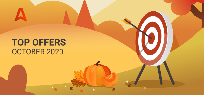 Top offers for affiliates October 2020