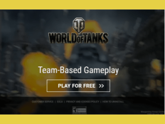 Popunder_World of Tanks offer