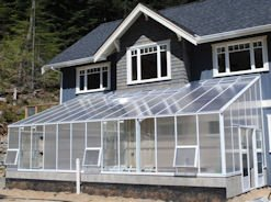 Want A Lean To Greenhouse, But You Own a Ranch Style Home?