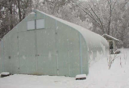 The Time To Prepare Your Greenhouse for Winter is NOW!