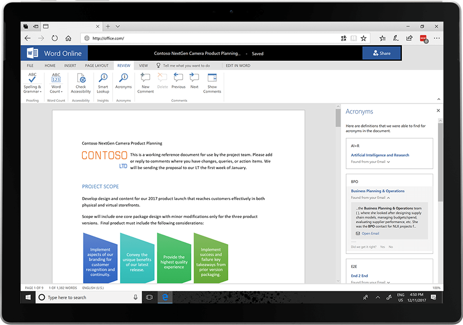 Office 365 acronyms