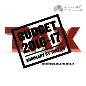 Budget by Taresh