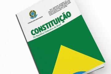 Capa da Constituição Federal brasileira de 1988