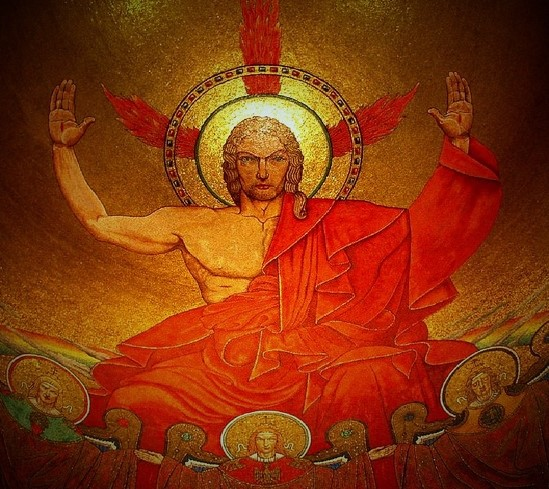 Image result for christ in majesty national shrine revelation
