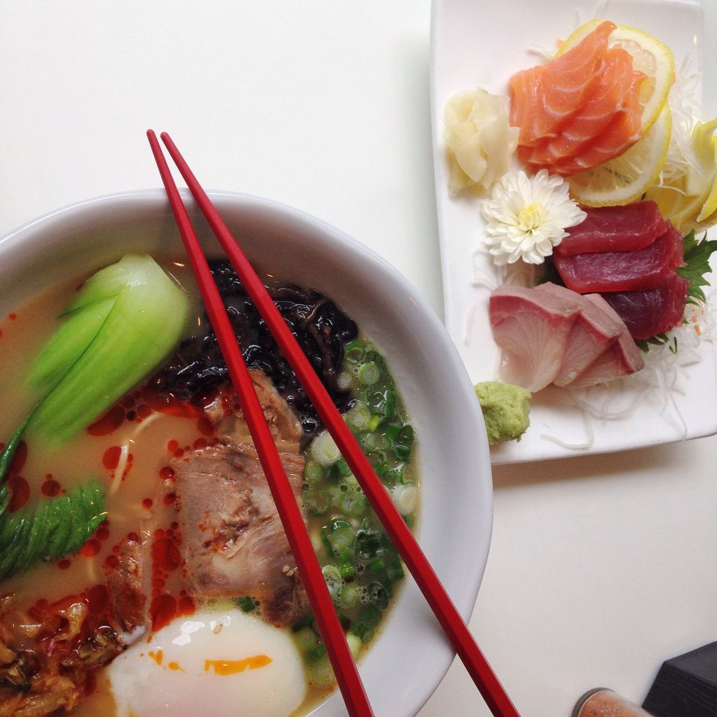 receitas com sashimi