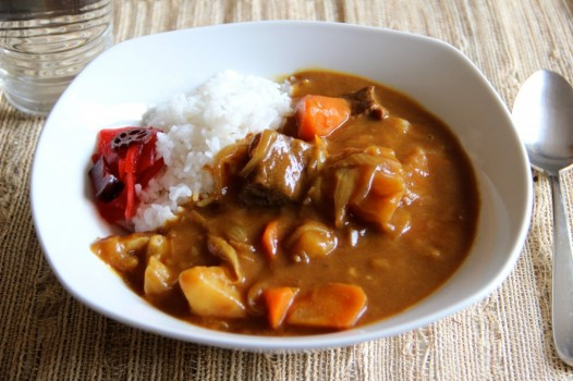 Kare Rice arroz com curry japonês