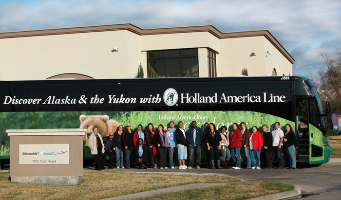 Holland America Line Motorcoach