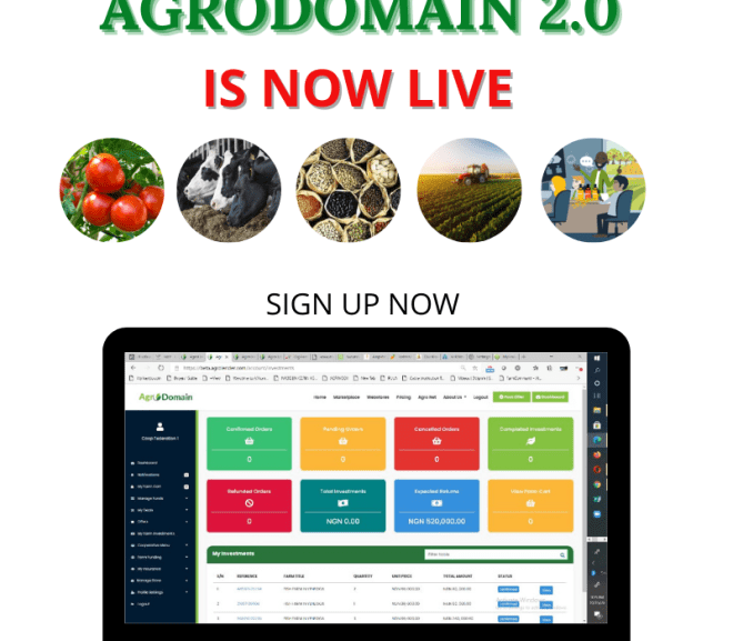 AGRODOMAIN 2.0 IS NOW LIVE