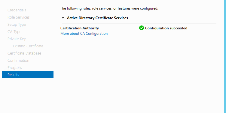 Migrate your certification authority root CA to Windows 2012