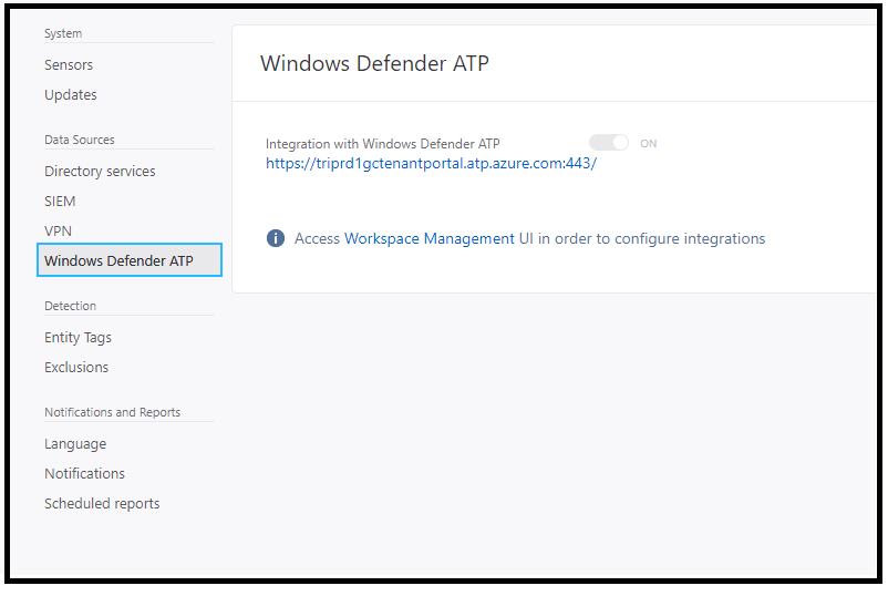 Azure ATP and Windows defender ATP integration 2