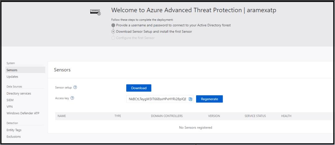 Implantação avançada de proteção contra ameaças do Azure 14