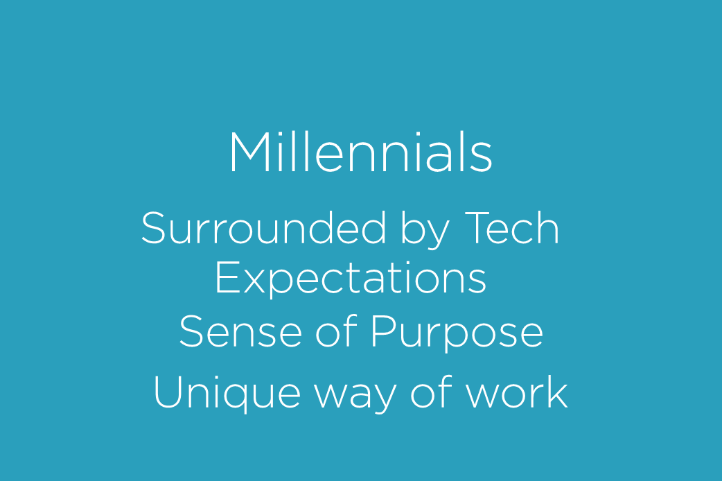 MILLENNIALS ARRIVAL AND THE EVOLUTION OF THE MODERN WORKPLACE 22