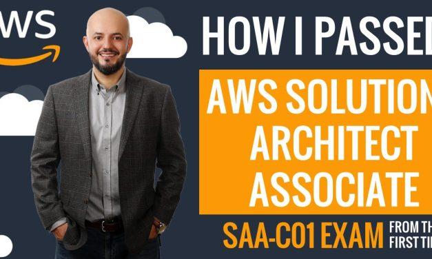 How I Passed AWS Solutions Architect Associate Exam