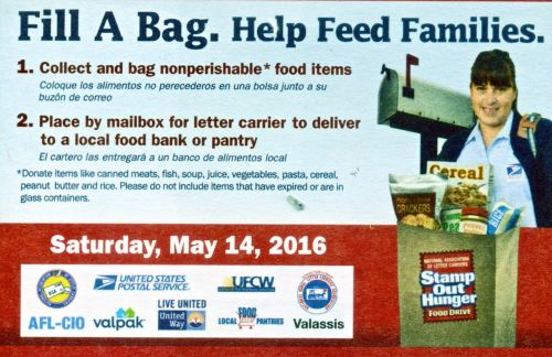 Fill a bag. Help feed families.