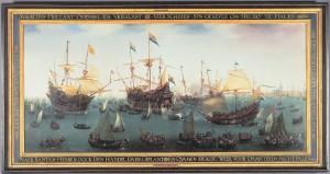 De terugkomst in Amsterdam van de tweede expeditie naar Oost-Indië, 1599