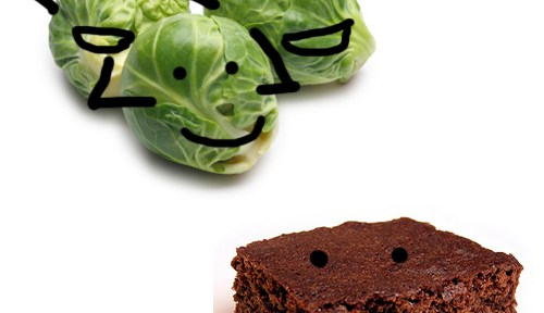 Health-e-Recipe Champion: Brussels Sprouts Beat Brownies