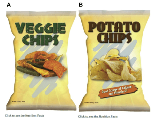 Study, That Nutrient Claim on Your Snack Food May Lead You to Buy the Less Healthy Choice