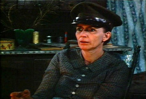 June Carter Cash as mystic seer Mayhaley Lancaster, in the TV Movie of 1983