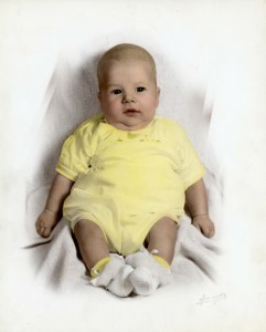 MichealZiantsBabyPic1952NewCastlePA